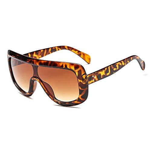 PKYGXZ Gafas de Sol polarizadas Gafas de Sol de una Pieza Gafas de Sol cuadradas con Montura Grande Gafas de Sol Deportivas para Montar en Bicicleta Gafas de Sol de Alta protección UV