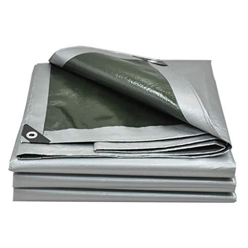 Telo di Protezione Telone Spessa per Esterno Protezione Solare Impermeabile All'ombra Impermeabile Isolamento Antigelo Resistente all'Usura Coprireni Auto (Size : 3 * 6m)