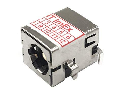 HT-ImEx Conector de alimentación DC Jack para ASUS N75S, N75SF, N75SL, P43E,...