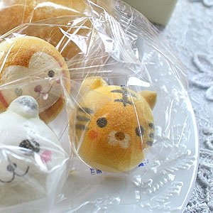 お絵かき動物っこW10個お家の箱入りお菓子スイーツ焼菓子
