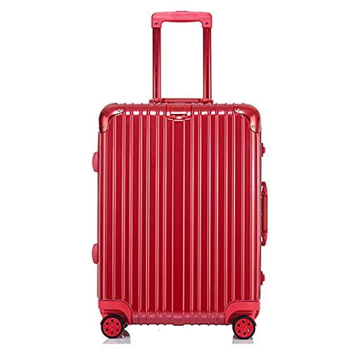 Rolling Laptop Case, Lichtgewicht Check-in Bagage | Zachte Medium koffer, 4 Wielen, Polycarbonaat Harde Shell Reistas, met TSA Lock (24 Inch, 60cm,5 Kleur)