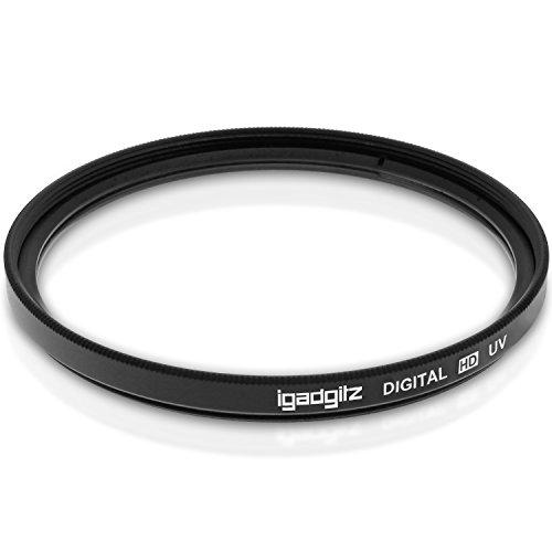 igadgitz Xtra U3097 67 mm in Vetro Multicoated Protezione Lenti Filtro UV Compatibile con Reflex e DSLR