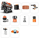 MéNage Portable Haute Pression Nettoyeur Portable Machine à Laver à Moteur à Induction
