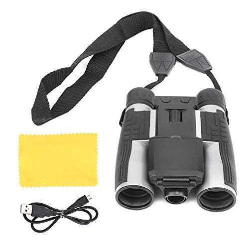 Binocolo Digitale LCD, 12x32 Telescopio Binoculare Elettronico Professionale Video 1080P con Visione Notturna a Infrarossi per Caccia, Osservazione