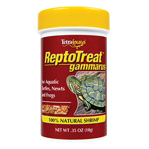 Tetrafauna ReptoTreat Gammarus 0.35 Ounce, Shrimp Treat For Aquatic Turtles, Newts And Frogs
