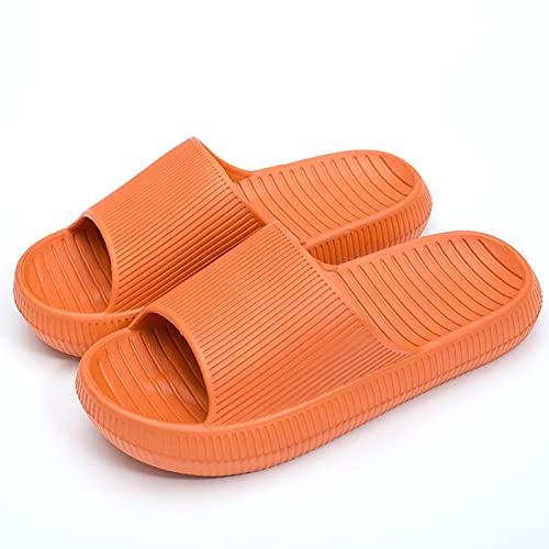 WEIXINMWP Zapatos de Ducha Secado rápido Antideslizante cómodo Hombres Mujeres casa Zapatillas,2,39