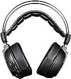 Headset Gaming Headset mit McAfee Virtual 7.1 Kanal Stereo Esports LED Lichteffekt Wireless Gaming Headset Schwarz