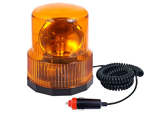 12v Oranje Revolving Beacon Lights - Magnetische Emergency/Warning Lights Fit Any Vehicle