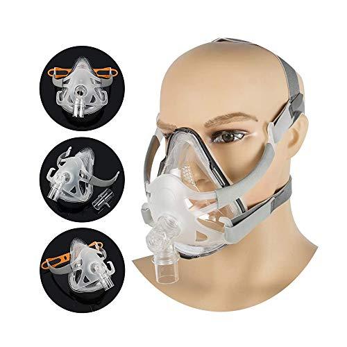 Messygo Nasenkissen CPAP-Maske Schlafmaske Geeignet Masken Universal Kopfbedeckung Headgear Für Schlaf-Schnarch-Apnoe-Geräte,L