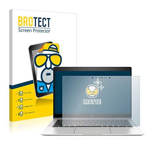 BROTECT Entspiegelungs-Schutzfolie kompatibel mit HP EliteBook x360 1030 G3 Bildschirmschutz-Folie Matt, Anti-Reflex, Anti-Fingerprint