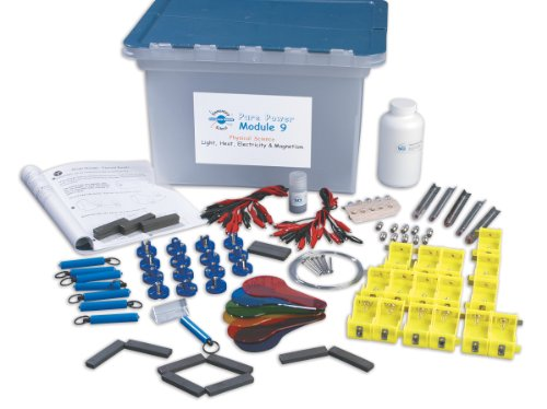 Neo/SCI 050-3429 ESCM Pure Power: Light, Heat, Electricity, and Magnetism Kit, For 32 Students