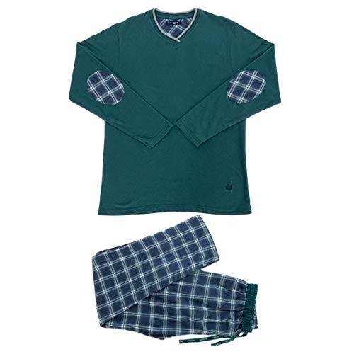 Guasch - Pijama Mixto Verde XL