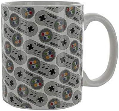 Paladone クラシックSNESコントローラセラミックコーヒーマグ 10オンス