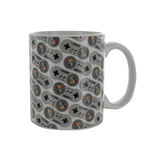 Paladone Kafeetasse Super Nintendo, Keramik, Mehrfach, 10,5 x 11,5 x 8,7 cm