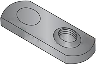 8-32 Single Projection Tab Weld Nuts//Steel//Plain Carton 1,000 Pc