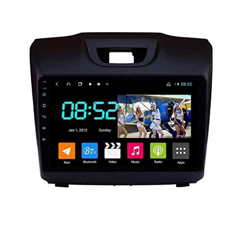 Android 8.1 Navegación GPS Auto Radio 9' 1080P HD Touch Screen Estéreo para Chevrolet S10 2015-2018, con control de volante Bluetooth Hand-Free Call Mirror Link DAB,8Cores:4G + WiFi 2G + 32G