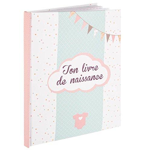 Mon livre de naissance Fille - Coloris ROSE