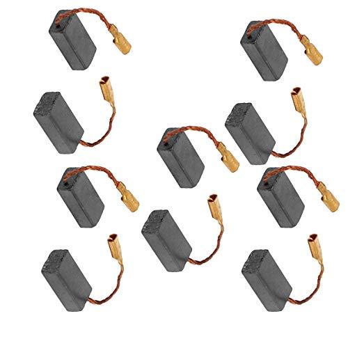 Aexit 10stk Kohlebürsten 5mm x 8mm x 15mm für for bosch GWS6-100 Winkelschleifer (eb29d65892de12cffa47793982d102a2)