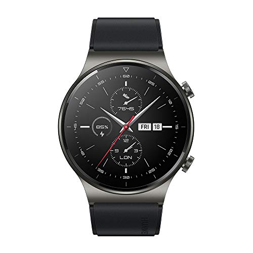 """HUAWEI Watch GT 2 Pro - Smartwatch with 1.39 AMOLED Screen"""", up to Two weeks of battery life, Black, 46mm"""