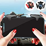 waitFOR Mobile Game Controller, Adjustable Shooting Game Controller with Cooling Fan Wireless Mobile Linkage Controller Gamepad Aim and Shoot Trigger, Joystick Remote Grip