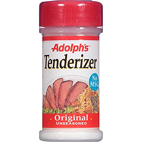 Adolphs Meat Tenderizer, Unseasoned, 3.5 oz (Pack - 6)