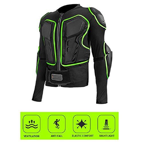 CHOUE Motorrad-Ganzkörperpanzer-Schutzjacke ATV Guard Shirt Gear Jacke mit Brustschulter-Rückenprotektor-Schutz for Offroad-Rennen Dirt Bike-Skifahren Skating-Mantel (Size : XXL)