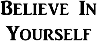 """CMI383 Believe in Yourself 