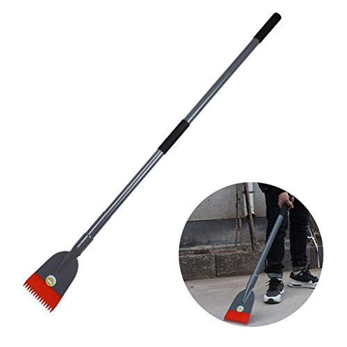 Fantastic Prices! LXHSY Thick Ice Shovel, Serrated Deicing Tool, Thickened Manganese Steel Quenching...