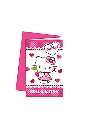 Procos Hello Kitty Einladungskarten envelop(pen)