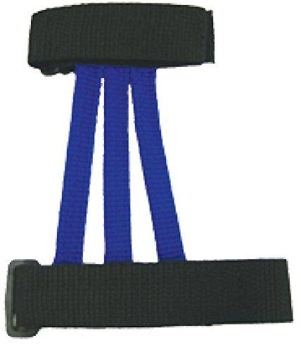 Wyandotte Leather Inc Youth Web Armguard Blue