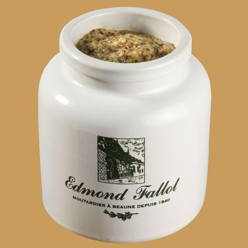Edmond Fallot Korniger Senf in Steintopf, 250 ml