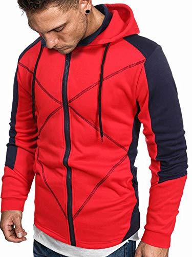 Sudaderas con capucha para hombre con cierre de cremallera, suéter con cordón para niños
