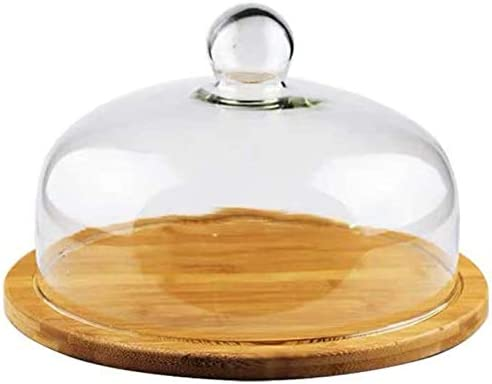 Cake Stand with Dome Plate Box 32CM Max 65% OFF 29 for Display unisex