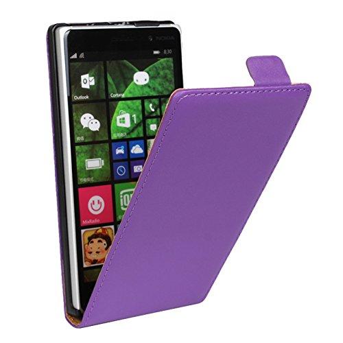 Eximmobile Flipcase Handytasche Etui Tasche für Microsoft Lumia 930 Lila