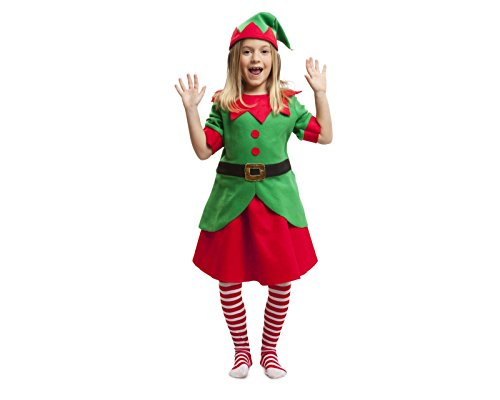 My Other Me Me-203376 Disfraz elfa para niña, 7-9 años (Viving Costumes 203376)