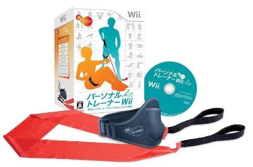 A Sports Active Personal Trainer Wii: 6-Shuukan Shuuchuu Kishime Program (w/Strap and Band)[Import Japonais]