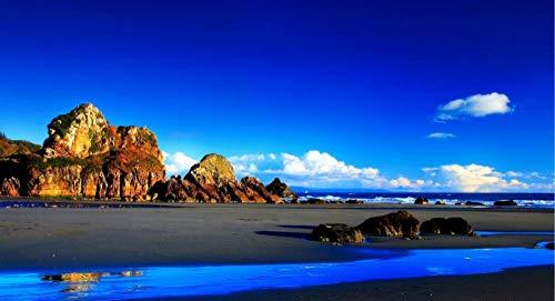 DKMDT 1000 Teile Puzzle Ozean, Meer, Rocky Mountain Mini-Puzzles