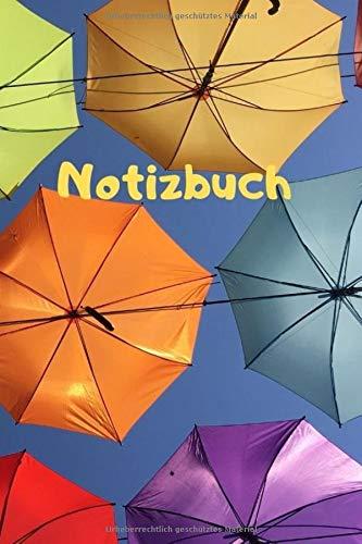 Notizbuch: Ein Notizbuch / Notizheft / Tagebuch A 5 - 120 weiße linierte Seiten - bunter Einband / Cover