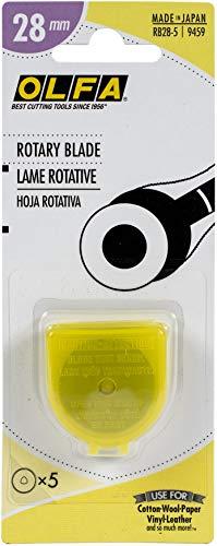 OLFA Rotary Blade Refills 28mm 5/Pkg