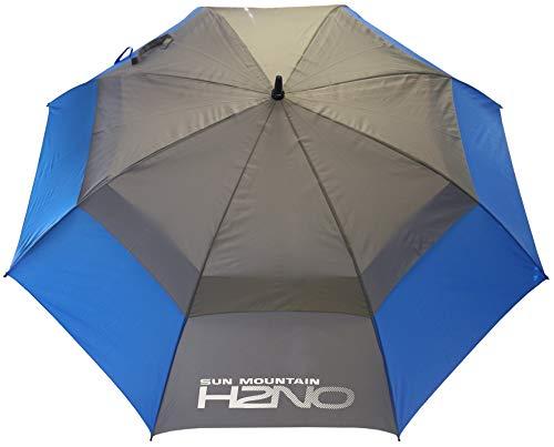 Sun Mountain H2NO Parapluie à Double auvent Bleu/Gris 62 cm