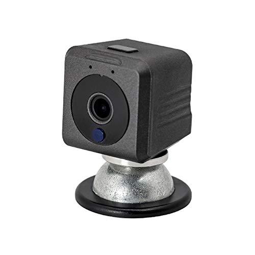 PAULCLUB A1081 720P P2P Cámara IP - Monitoreo Remoto WiFi inalámbrico, cámara Mini DV, con visión Nocturna IR y función de imán Incorporado y Control Remoto del teléfono móvil Lihaihua