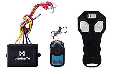 LIEBMAYA Wireless Winch Remote Control Kit for Truck Jeep ATV SUV 12V Switch Handset Waterproof