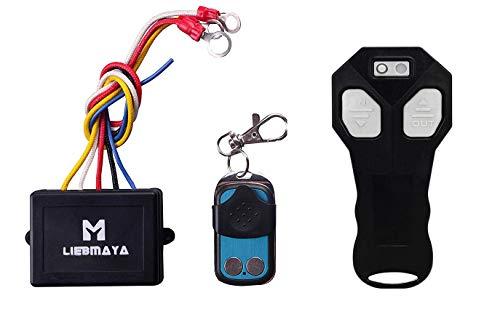 LIEBMAYA Cabrestante Control Remoto Inalámbrico para ATV marca nuevo controlador inalámbrico de coche 12 V-24 V Kit