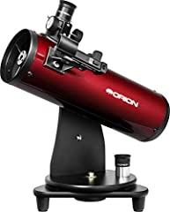 An ideal entry-level reflector telescope with 100mm parabolic primary mirror optics - no plastic lenses as found in some other telescopes made for beginners See hundreds of craters on the Moon, detail on Jupiter and other planets, even when viewing f...