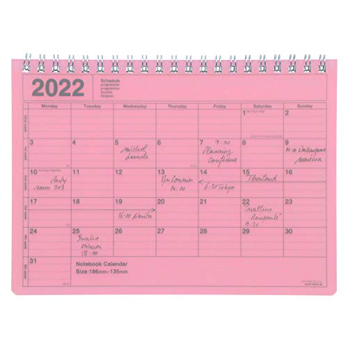 MARK'S 2022 Tischkalender S // Purple