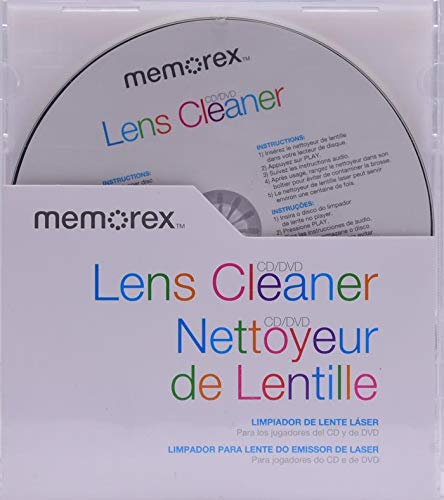 Memorex CD/DVD Lens Cleaner