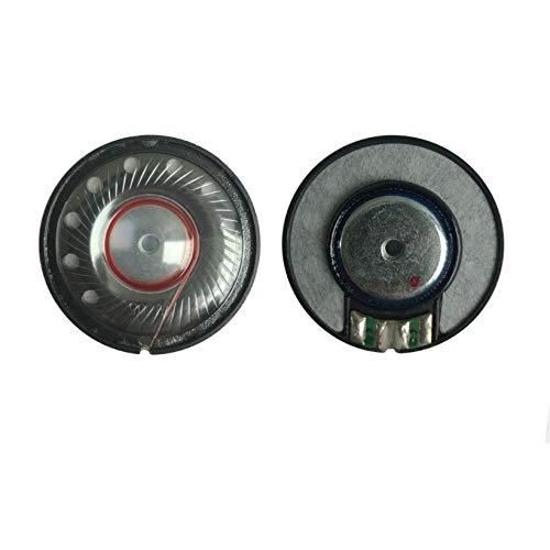 WNJ-TOOL, 2 stücke 40mm Kopfhörer Lautsprechereinheit Woofer Headset Treiber 112DB HiFi Bass Lautsprecher Neodym Reparaturteile für Kopfhörer