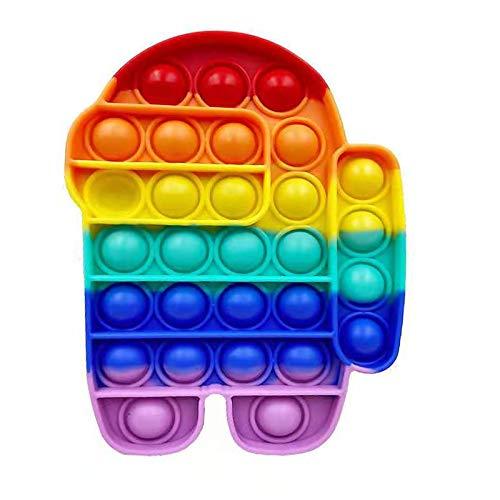 Juguete sensorial para jugar con los dedos, antiestrés, burbujas para explotar, autismo, necesidades especiales, antiansiedad, para niños y adultos