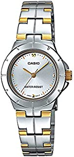 Casio Enticer for Women - Analog Stainless Steel Band Watch - LTP-1242SG-7C