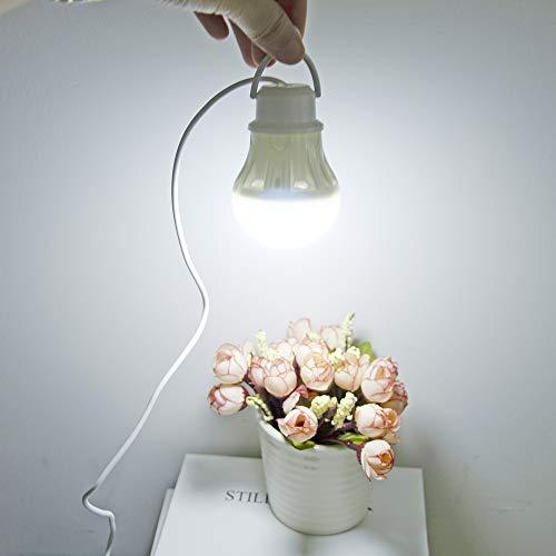 BRTTHYE draagbare lantaarn campingverlichting USB-lamp 5W / 7W Power Bank apparatuur 5V LED voor tentlantaarns wandellamp